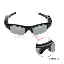 Mini 16GB Video Recorder Camera DV DVR Eyewear Camcorder Sunglasses Support -TF