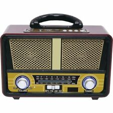 Qfx RETRO90 Am Fm Mp3 Sw Bluetooth Retro Radio
