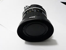 Nikkor 24mm f2.8 AI nikon plus UV filter and lens hood