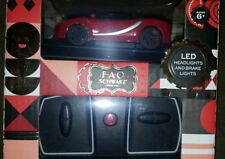 F•A•O Schwarz Remote Control Car Sports Italia Car LED NEW