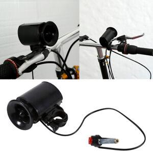 6-sound Horn Bell Ring Alarm Speaker Bike Bicycle Super-Loud Electronic Siren UK
