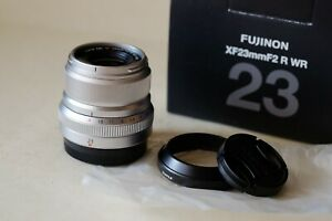 Fujifilm Fujinon XF 23mm F2 R WR Super EBC Mint NR