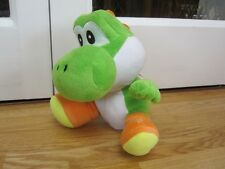 "YOSHI SUPER MARIO 10"" SOFT TOY GREEN NINTENDO PLUSH FIGURE"