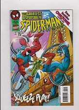 "October 1995 Marvel ""Spider-Man"" Squeeze Play Part 2 Over Power Game Card"