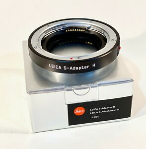 New Leica #16030 S-Adapter H - Hasselblad H lens to Leica S/S2/S2p Autofocus*