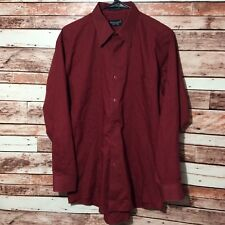 Men's KILBURNE AND FINCH Dress Shirt Size 15½, 15.5,   32/33 sleeve red