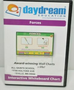 Daydream Education (Science - Forces) Interactive Whiteboard Chart