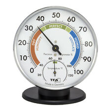 45.2033 La Crosse Technology TFA Table Stand Indoor Analog Thermo-Hygrometer