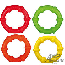 Trixie Tough & Strong Ring, Natural Rubber, Floatable Dog motivational Toy 13cm
