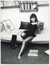 Photo Araldo Crollalanza - Marie-France Pisier - Epreuve argentique d'époque -