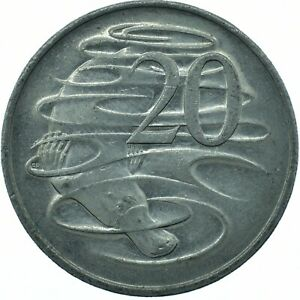 Australia Elizabeth II.  20 Cents  1996      #WT27121