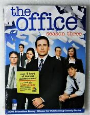 Brand New GIFT Ready The Office Season Three Widescreen 4-DVD BoxSet Sit-Com