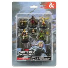 Dungeons & Dragons D&D Icons of the Realms Epic Level 7 Miniatures Starter 72779