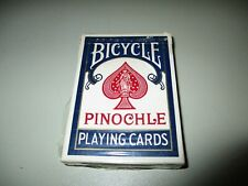 Vintage Complete Deck Bicycle Pinochle Playing Cards w/ Tax Stamp