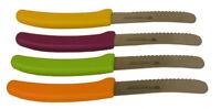 Vespermesser-SET 4-Teilig Frühstück Abendessen Obstmesser Gemüsemesser Küche NEU
