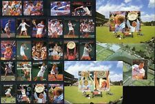 Tennis Sports Postal Stamps