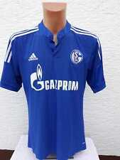 FC Schalke 04 Trikot adidas Home Heim Gazprom Maglia L XL Shirt Jersey Camiseta
