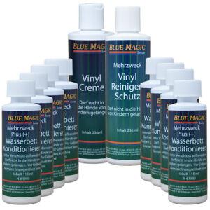 Blue Magic Wasserbett Conditioner 8x 118ml Vinylreiniger Vinyl Pflege 236ml