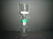 250ML,Glass Suction Filter Kit,150ML Buchner Funnel & 250ML Lab Erlenmeyer Flask