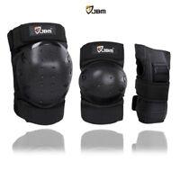 JBM international Adult / Child Knee Pads Elbow Pads Wrist Guards 3 In 1