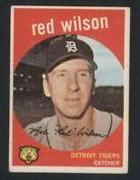 1959 Topps #24 Red Wilson EX/EX+ Tigers 72358