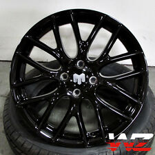 17 Mini Cooper Wheels Gloss Black Finish Fits Mini Cooper S Rims