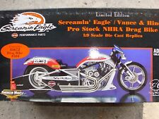american mucle 1/9 scale drag bike VANCE AND HINES