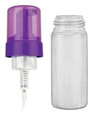 125 ml (4.16 OZ) PURPLE Foamer PUMP SET (Natural Bottle) - 25 SETS