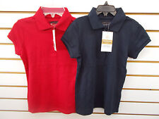 Girls Arrow Uniform Red or Navy Polo Shirts Size 6/7 - 16