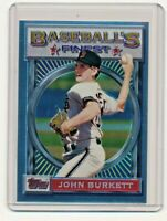1993 Topps Finest #44 John Burkett San Francisco Giants Baseball Card