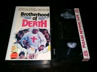 BROTHERHOOD OF DEATH Gorgon Video VHS Extremely Rare Video Tape