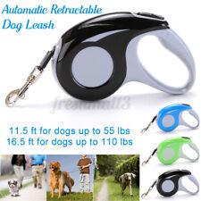 5M  Leash Automatic Retractable Extending Pet Leashes  Collars Walking  A