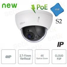 Telecamera Dahua IP 4MP PTZ Dome Motorizzata H265 IVS IK10 PoE S2 - SD22404T-GN-