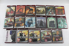 Lot of 17 Hd-Dvd Movies - Action & Horror Mixed Lot - 3 Sealed Bourne Matrix 300