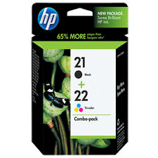 RETAIL BOX 2017 Hp 21+22 Black Color Combo Pack Genuine Ink 1410 1408 1406
