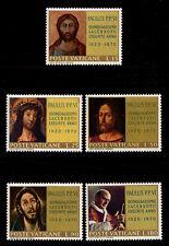 VATICAN CITY - Scott 487-491 - 1970 Pope Paul VI Ordination Anniversary - MNH