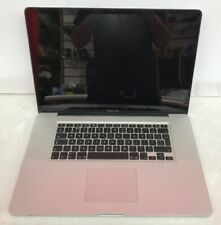 "Apple laptop Macbook Pro 17"" Core i7 2.2GHz Early 2011 A1297  -Faulty"