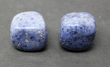 2 Medium / Large Dumortierite Tumbled Stone Crystal Healing Gemstone