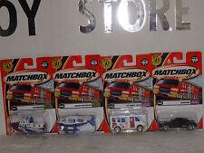MATCHBOX ST/4 1/64 # 66, 65, 63, 61.-2002 SERIES