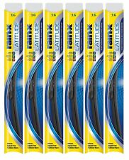 "Rain-X Latitude 8 In 1 16"" Windshield Wiper Blade Pack of 6"