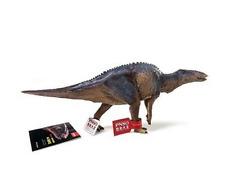 Rare Mandschurosaurus Dinosaur Model scientific art Hadrosaurus 15'' Figure Pnso