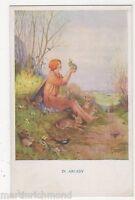 Margaret Tarrant, In Arcady, Children Medici Postcard, B540