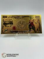 Billet 10000 Yen Dragon Ball Z DBZ Gold / Carte Card Carddass / Japan Broly #2