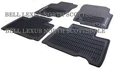 Lexus Oem Factory All Weather Floor Mat Set 2015-2021 Nx200T Nx300H Nx300 Black (Fits: Lexus)