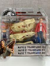 Jurassic World 3.75� Action Figure - Maisie & Tyrannosaurus Rex - Mattel