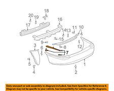 Buick GM OEM 00-05 LeSabre REAR BUMPER-Side Reinforcement Right 25733172