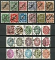 Germany (Weimar Republic) 1923-1933 Used - Collection Officials Post Inflation