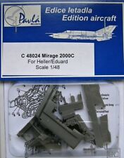 Pavla 1/48 Mirage 2000 C Cockpit Set for Eduard/HELLER # C48024