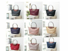 NEW Auth Longchamp Le Pliage Nylon Tote Handbag Travel Bag Large L and M