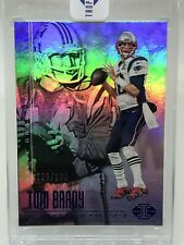 2017 Illusions Tom Brady Steve Grogan Blue 3/100!